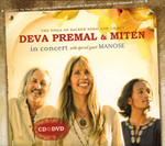 Deva Premal & Miten In Concert with special guest Manose Audio CD mit DVD